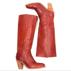 FRYE | Tall Heeled Boots